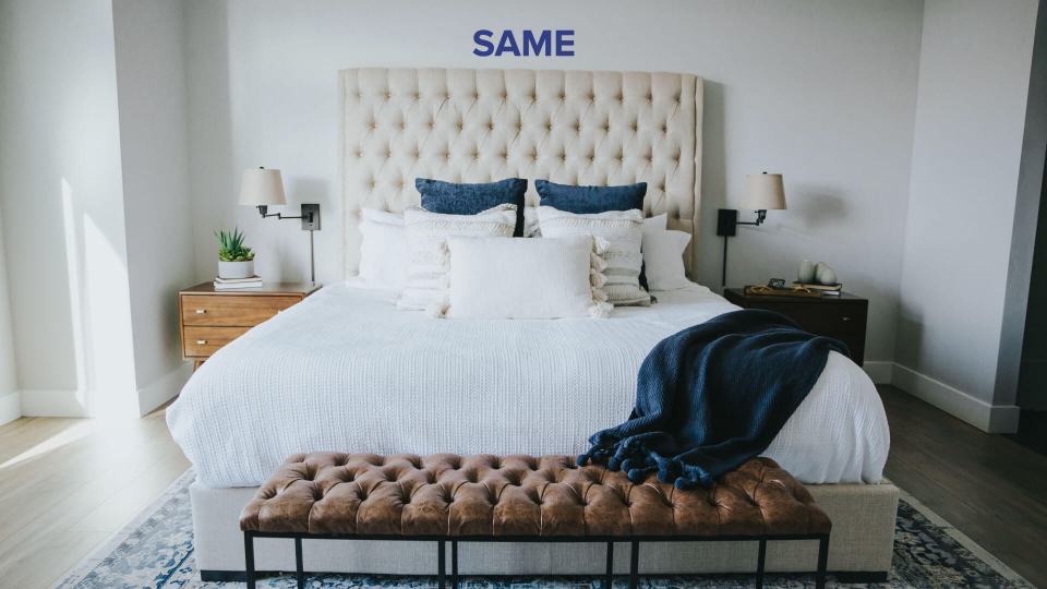 Desarrolla el hábito de tender tu cama