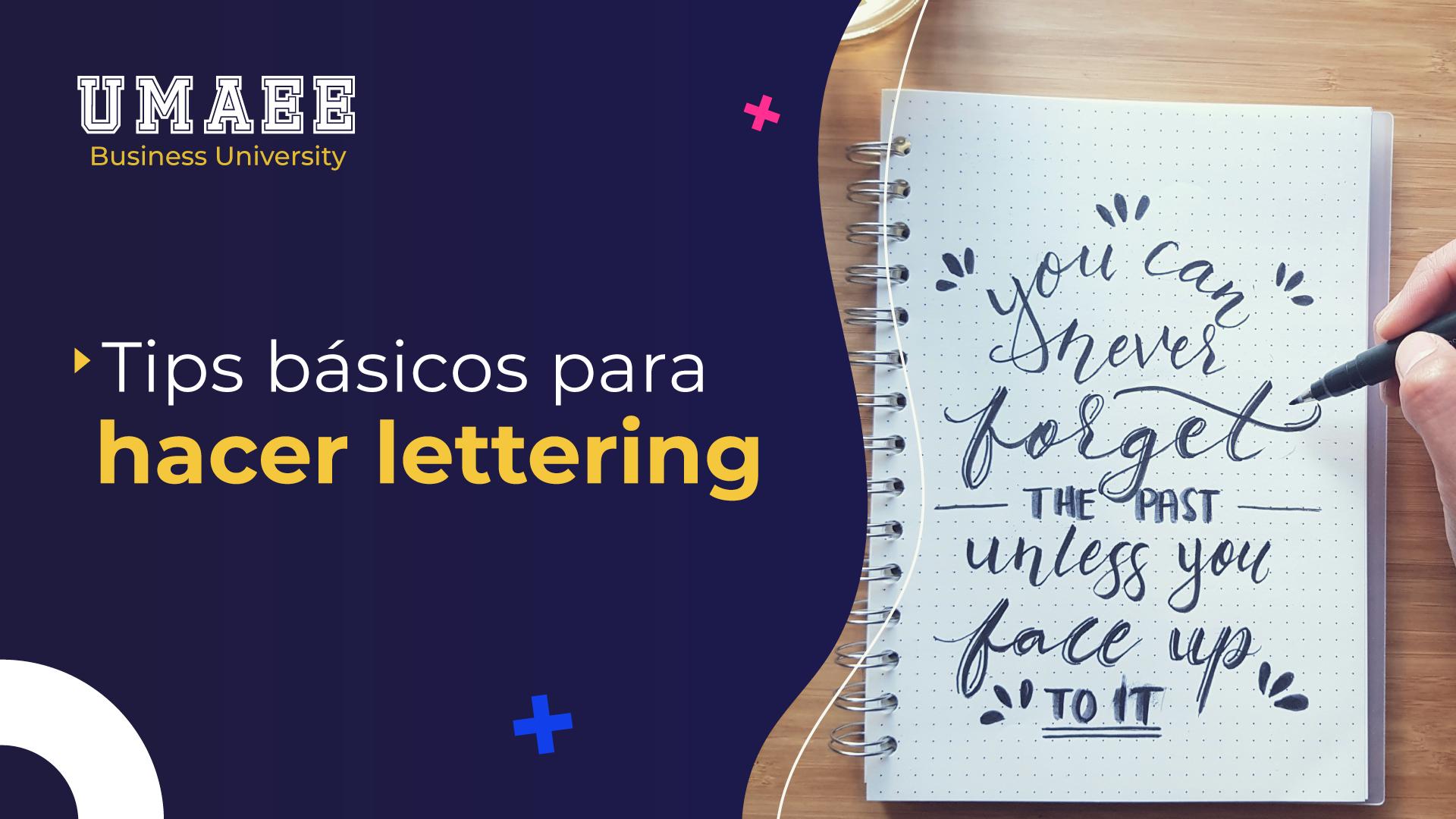 Tips básicos para hacer lettering